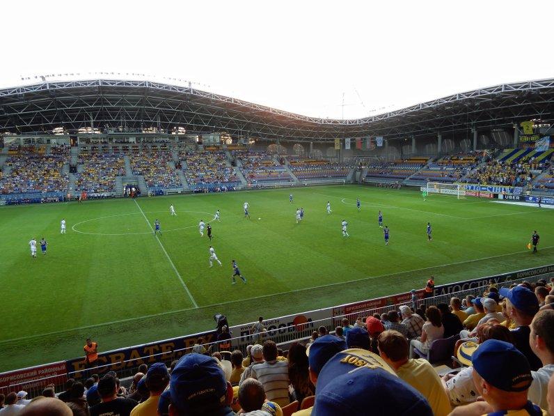 Die moderne Arena als Nationalstadion Weissrusslands