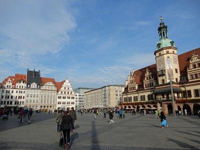 Das Zentrum der Hauptstadt von Sachsen