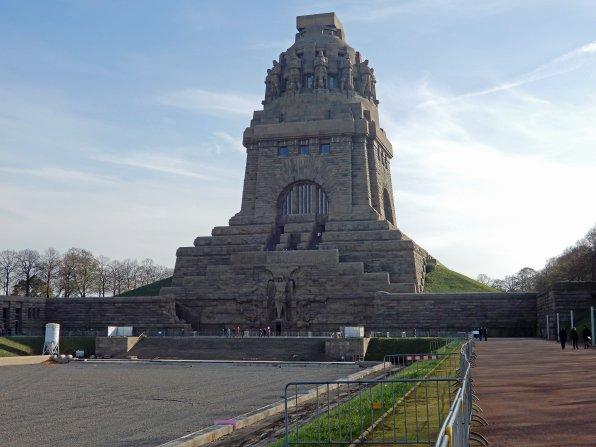 Das Völkerschlachtdenkmal erinnert an die Schlacht gegen Napoleon