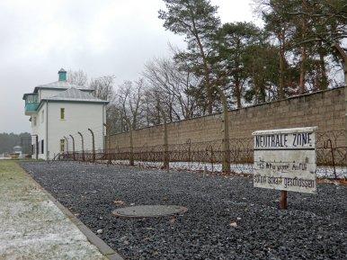 Die neutrale Zone im KZ Sachsenhausen