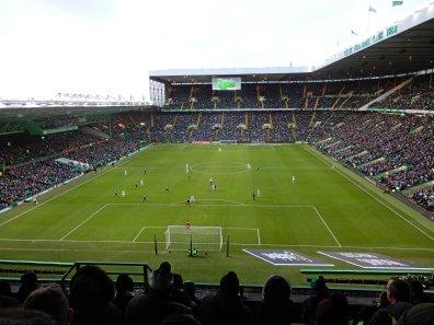 Volle Ränge beim grün-weissen Duell in Glasgow