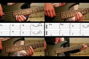 Metallica - Damage Inc. intro (Cliff Burton bass review)