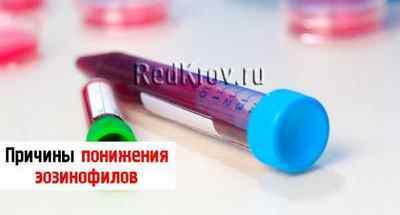 Эозинофилы в крови: нормы и почему они понижены или повышены