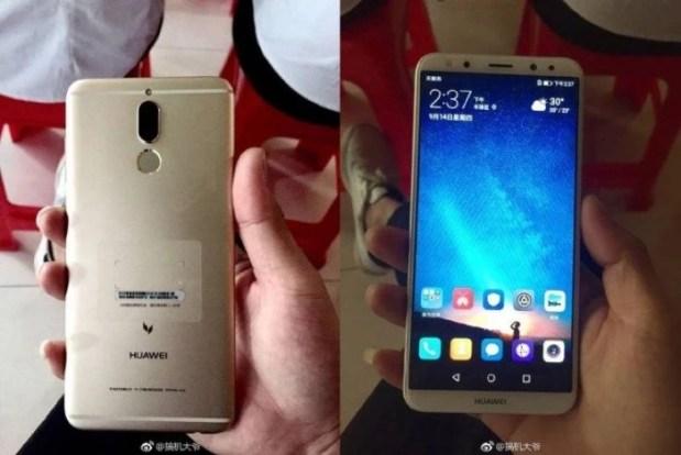 Эксперты рассекретили первый безрамочный смартфон Huawei с четырьмя камерами