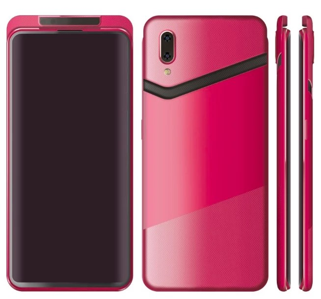новый раздвижной смартфон от Oppo