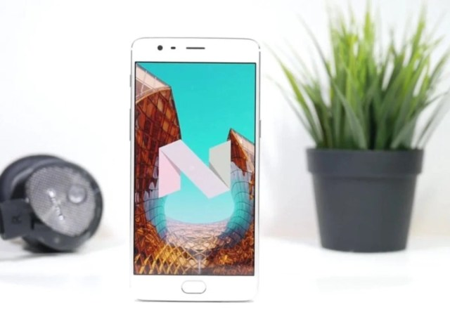 Android 7.1.1 Nougat en OnePlus tres y 3T