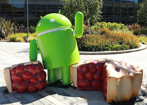 Android Pie, figura
