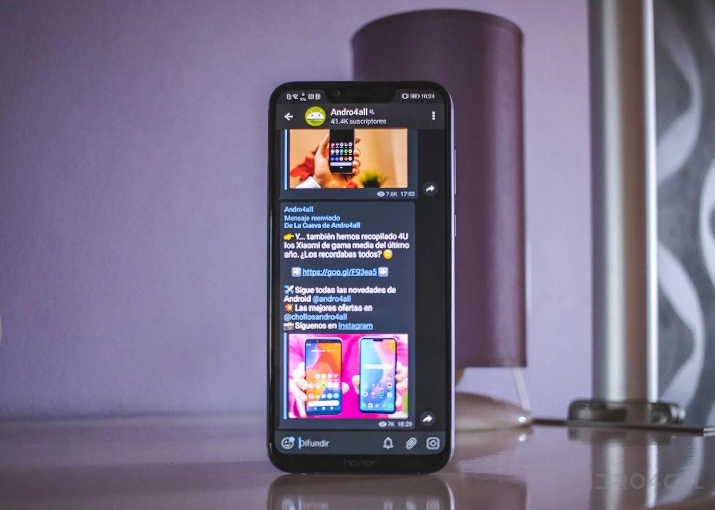 Telegram se actualiza con una función al más puro estilo Tinder