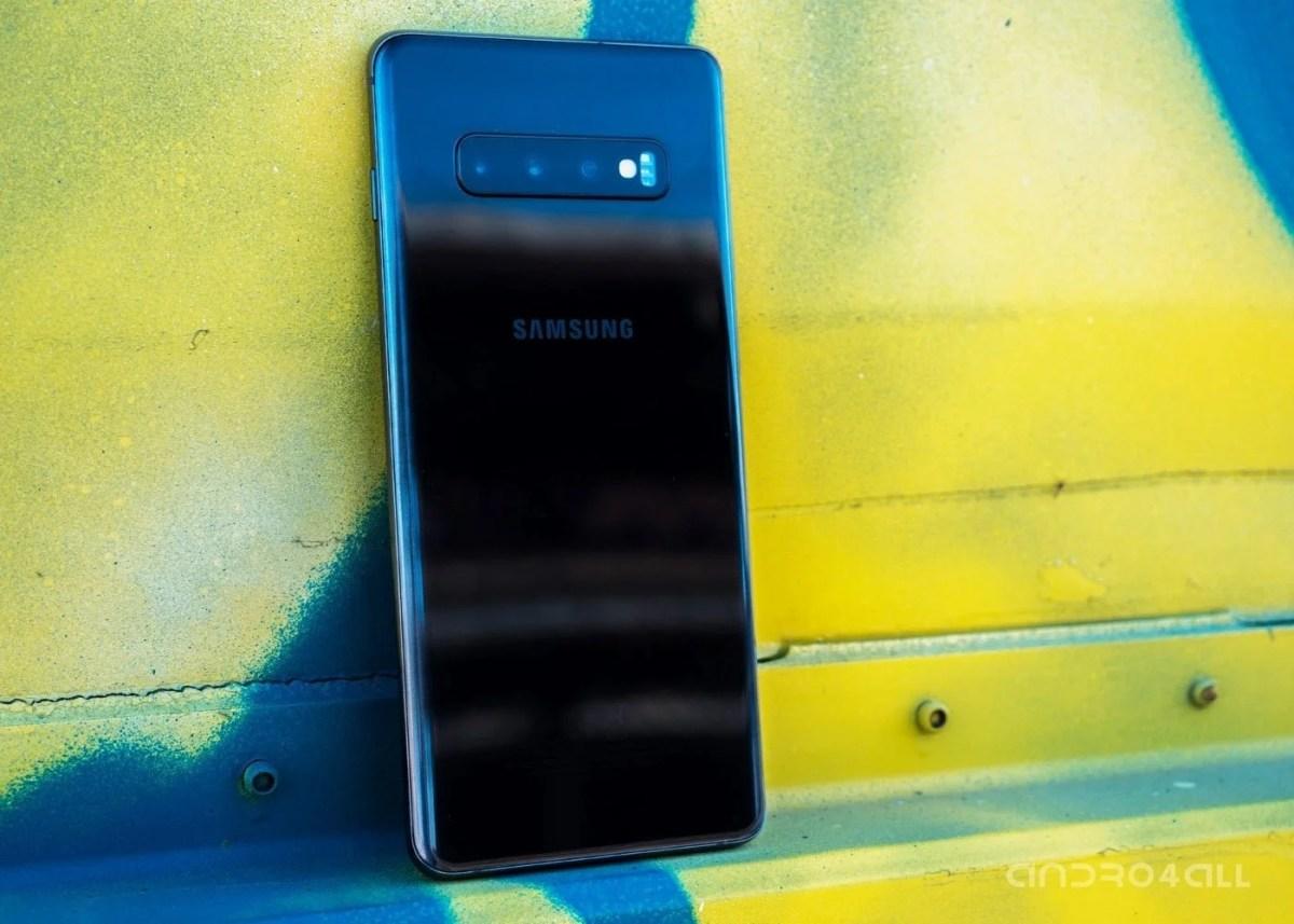 Samsung Galaxy S10 Plus, imagen destacada de la parte trasera