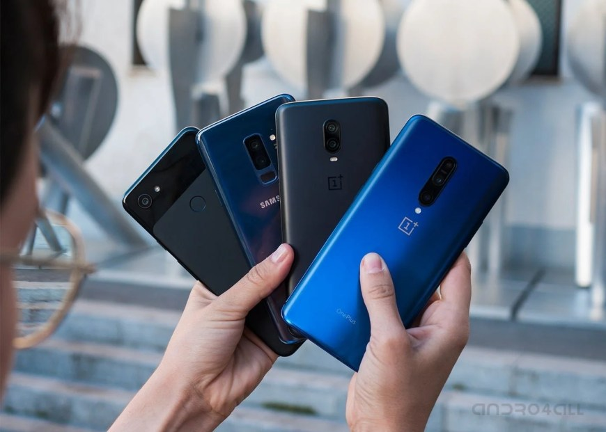 Smartphones Android 2019