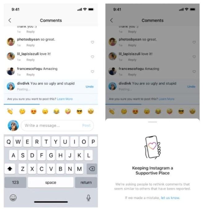 Instagram funciones combatir acoso