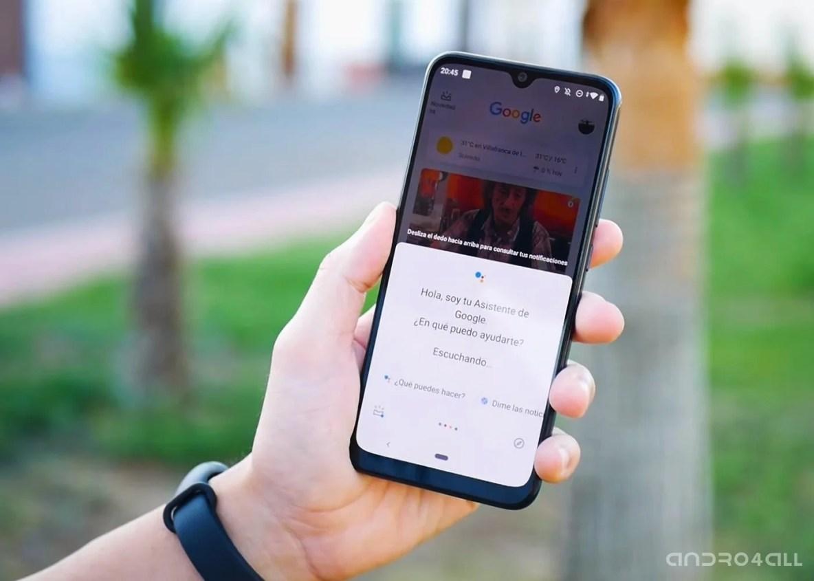 Xiaomi Mi A3, Asistente de Google