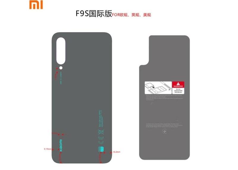 Xiaomi Mi A3 FCC