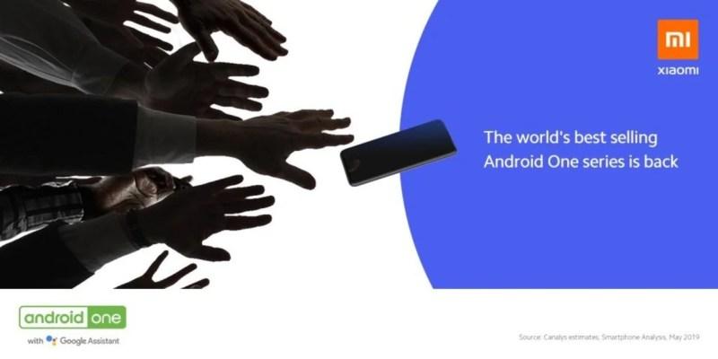 Xiaomi Mi A3 teaser