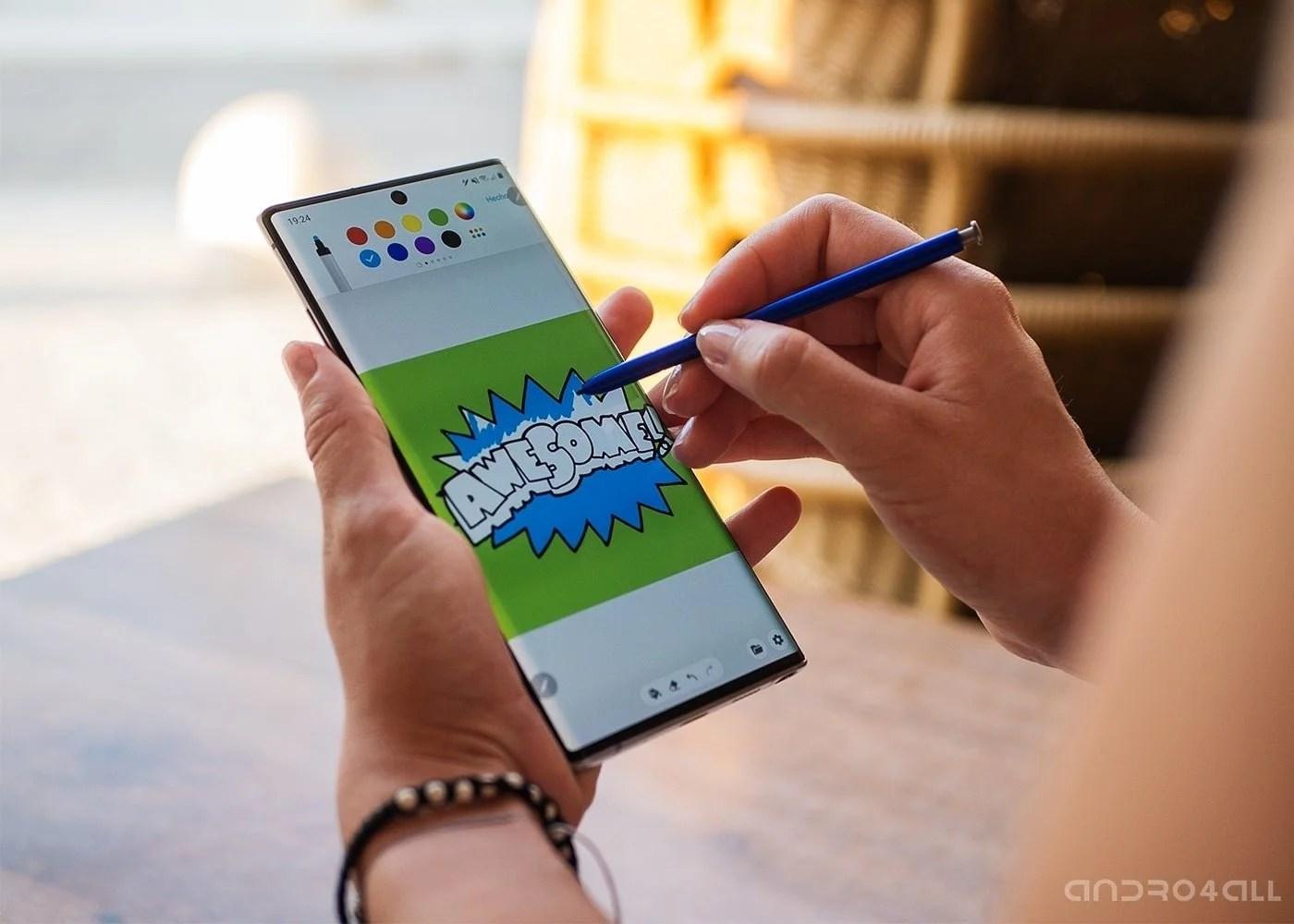Dibujo con S Pen
