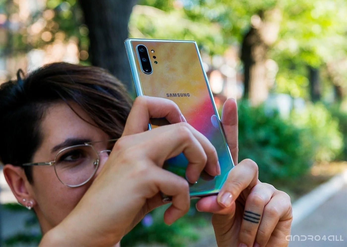 Fotografía con Samsung Galaxy Note10 Plus