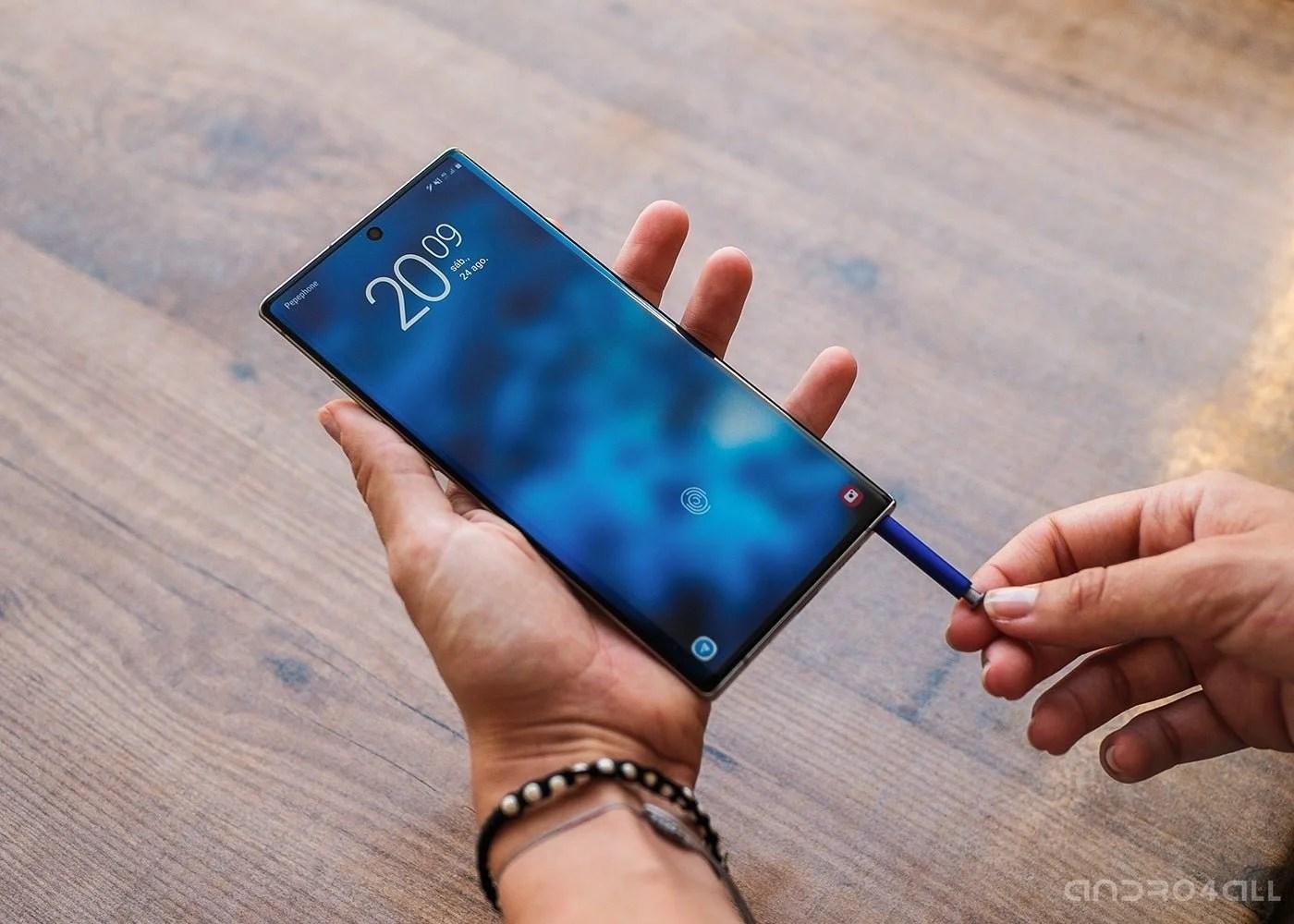 Samsung Galaxy Note10+, S Pen