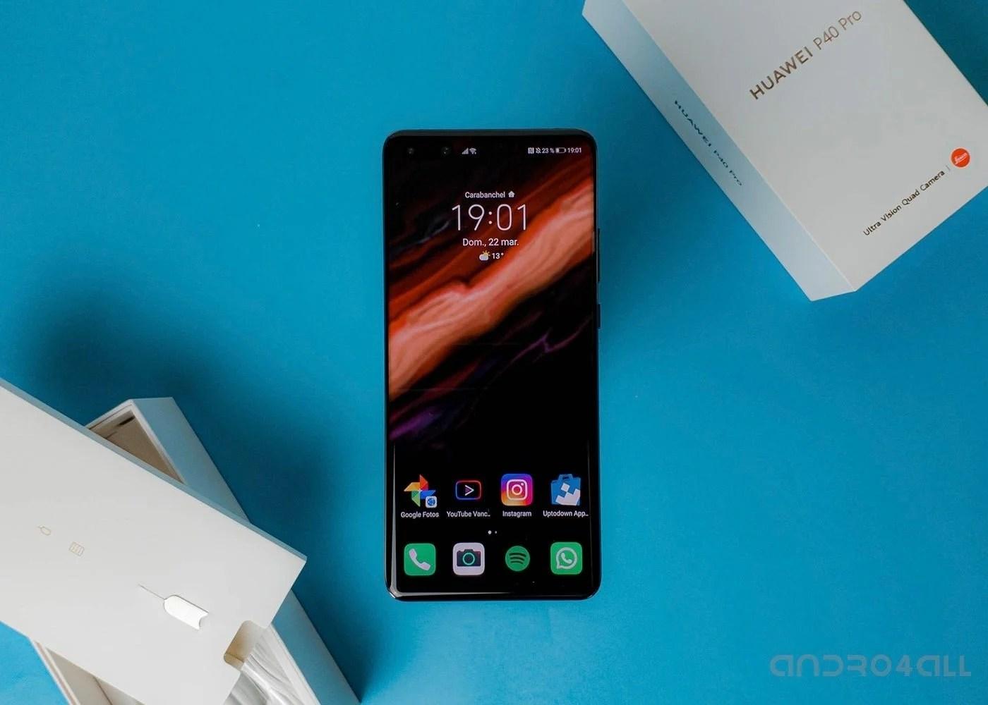 Huawei P40 Pro caja