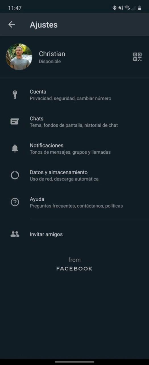 Cómo compartir tu perfil de WhatsApp con otras personas usando tu código QR