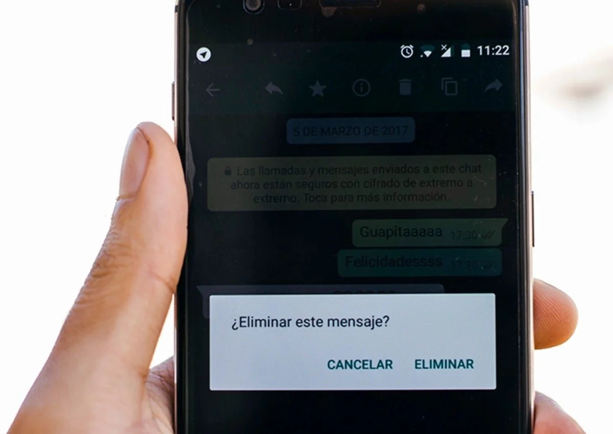 3 things to remember before deleting a message