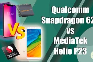 snapdragon 625 vs helio p23