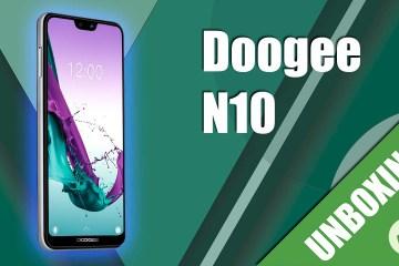 Unboxing Doogee N10