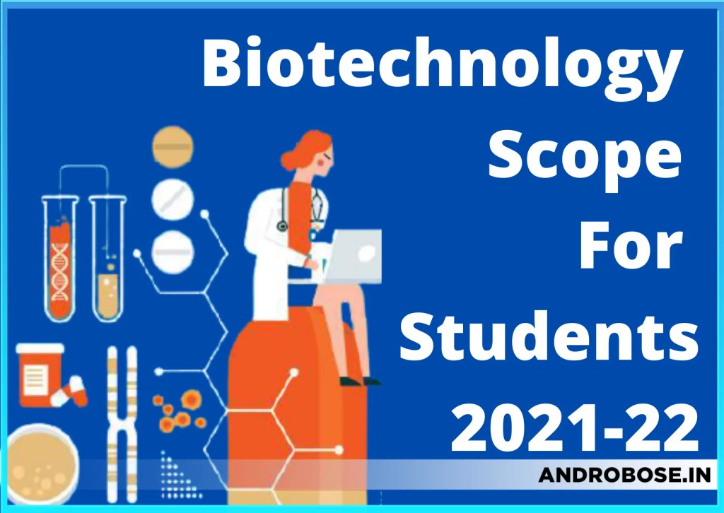 Biotechnology Scope For Students