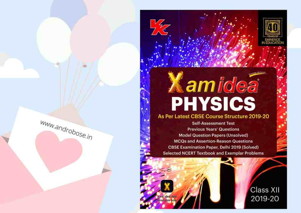 Xam Idea Class 12 Physics Pdf
