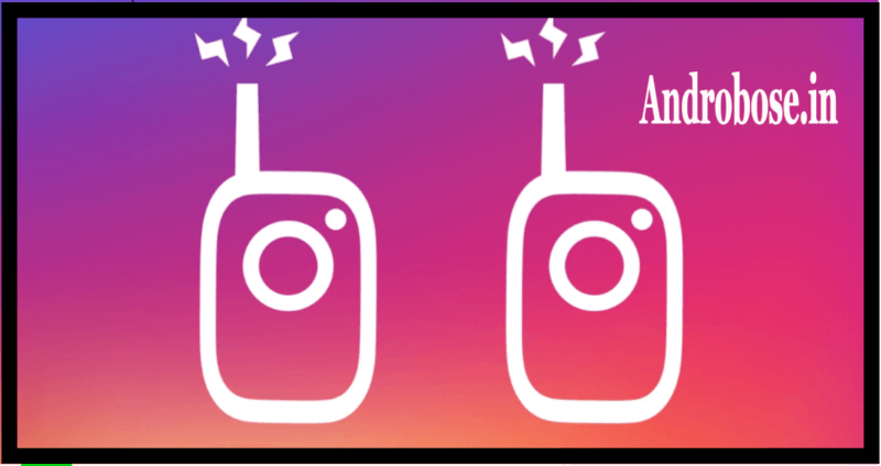 Instagram Launches Voice Messaging Walkie-Talkie