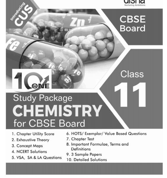 10 in One Study Package for CBSE Chemistry Class 11 1