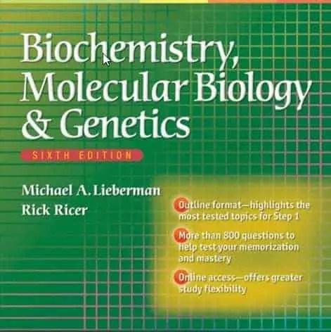 Biochemistry Molecular Biology and Genetics By BRS 1