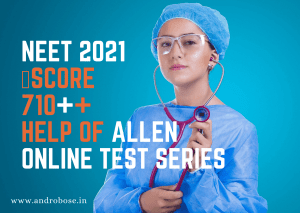 allen online test series for neet 2021