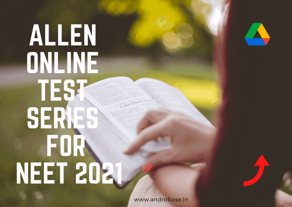 allen online test series for neet