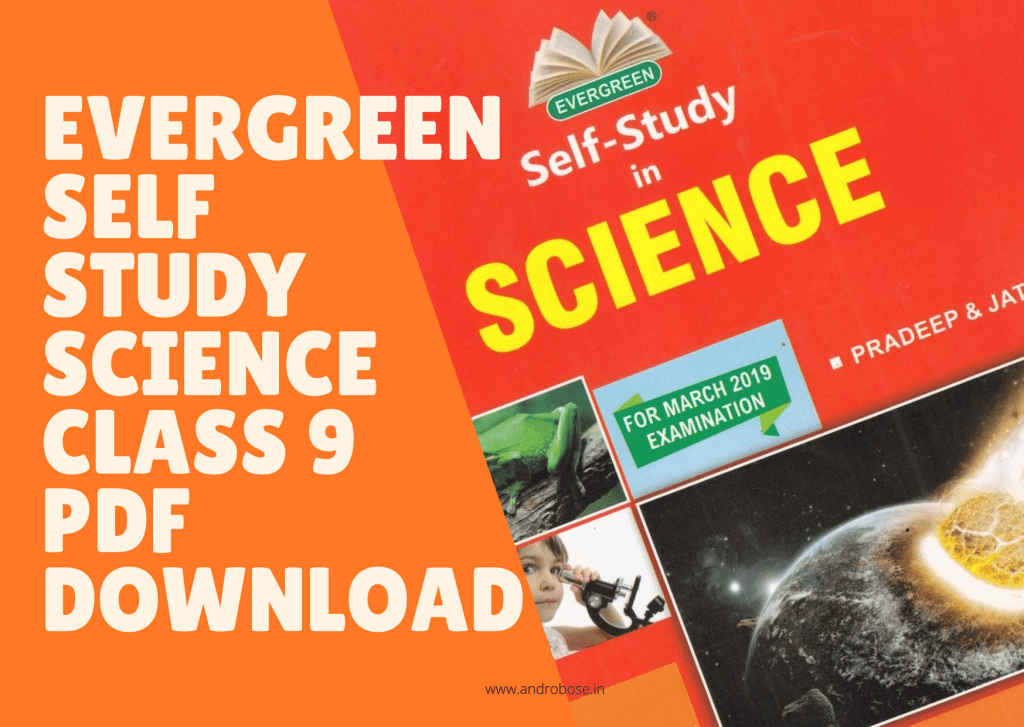 Evergreen Self Study Science Class 9 Pdf Download