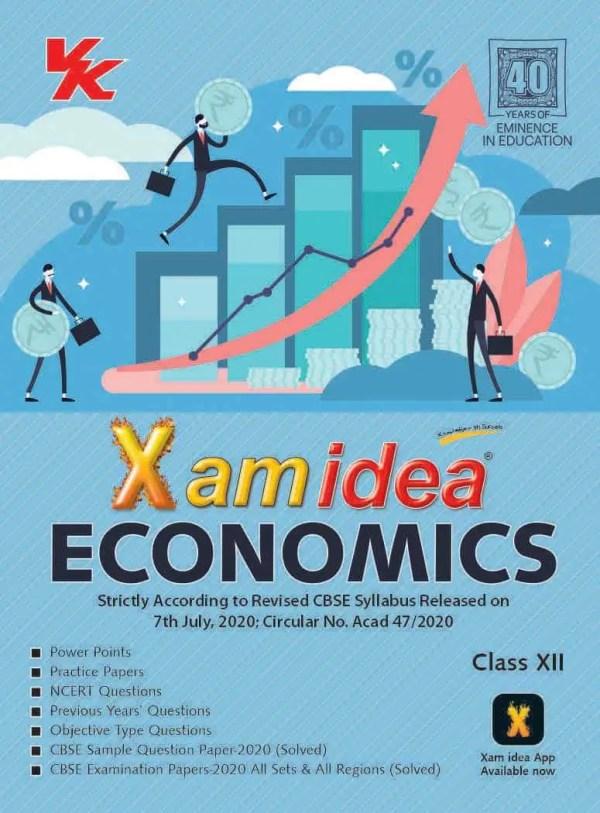 Xam Idea Class 12 Economics