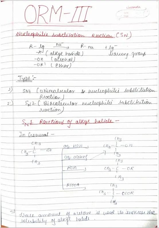 Organic Reaction Mechanism Part 3