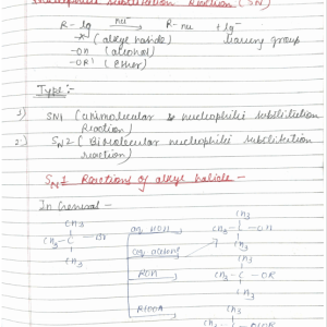 Organic Reaction Mechanism Part 3