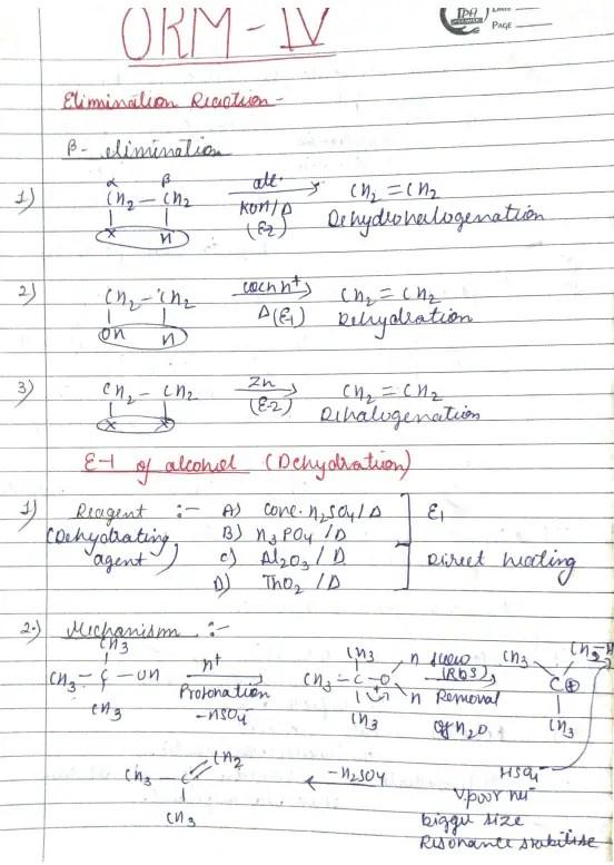 Organic Reaction Mechanism Part 4