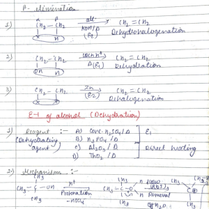 Organic Reaction Mechanism Part 4
