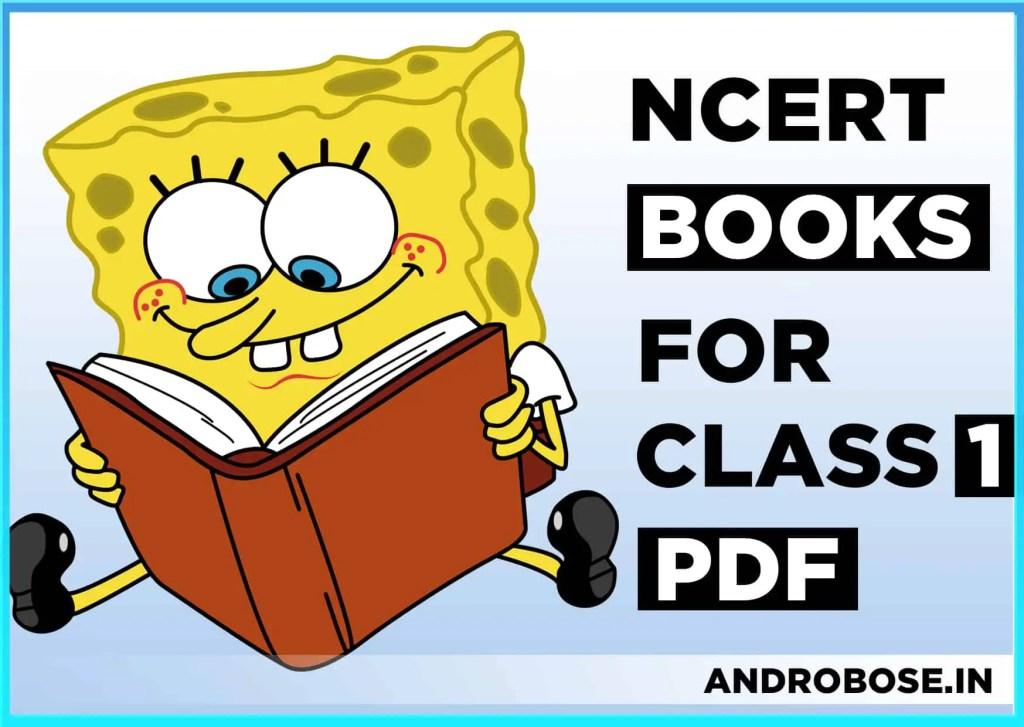 NCERT Books for Class 1 PDF