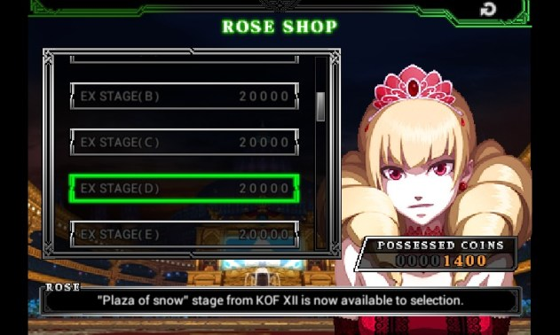 Rose sells, but also buys goodies
