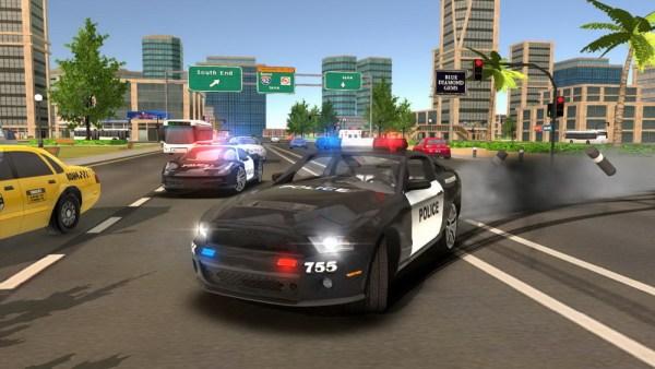 Police Drift Car Driving Simulator
