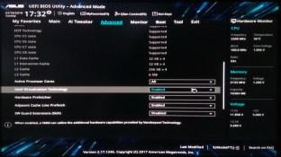 UEFI Bios on Asus motherboard