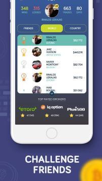 Bitcoin Flip - FREE Bitcoin Trading game
