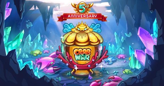 Crab Wars celebrates 5-th Anniversary
