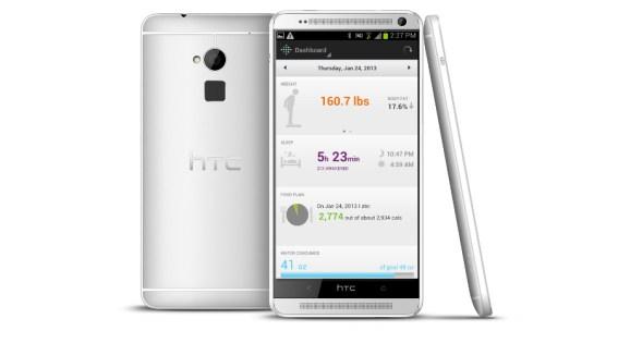 HTC One Fitbit tracker