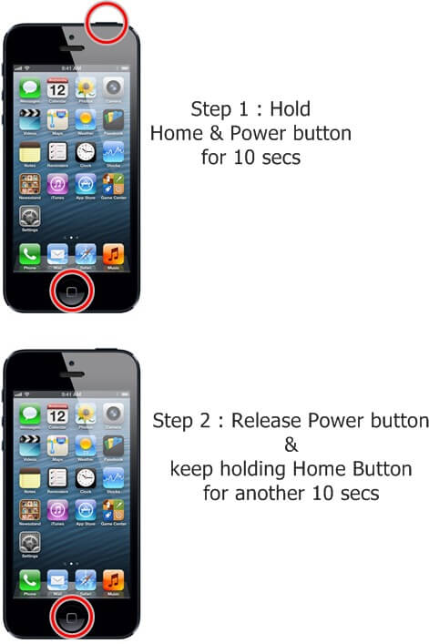 Dfu Mode Iphone 5 : iphone, Jailbroken, IPhone, Black, Screen, Death, System, Recovery