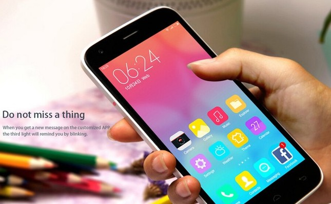 DOOGEE Valencia2 Y100 Pro (лучшие китайские смартфоны за 2015 год)