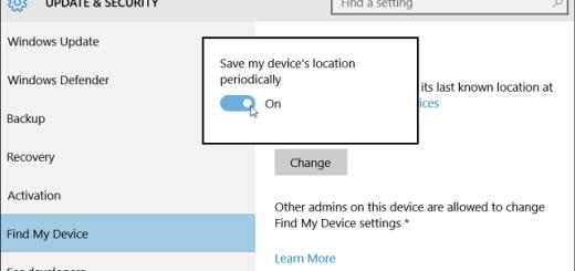 Найти моё устройство (find my device)