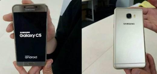 Металлический смартфон Samsung Galaxy C5